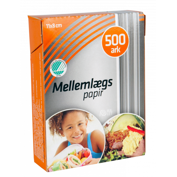 Mellemlægspapir/madpakker